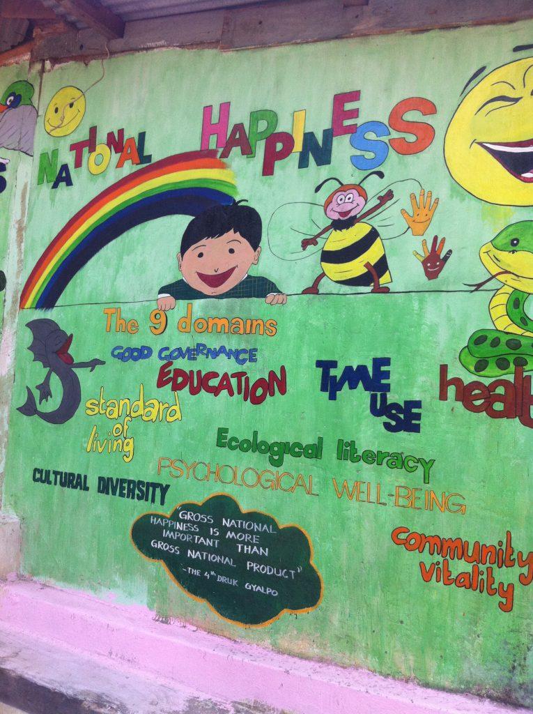Bhutanin onnellisuusindeksin pilarit